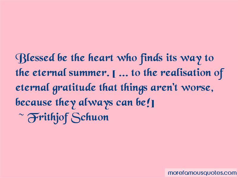Eternal Gratitude Quotes