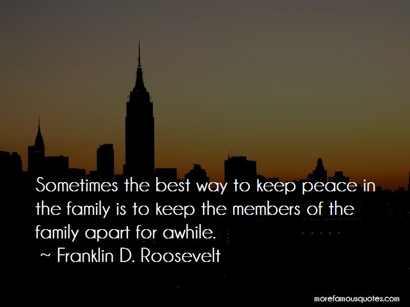 Family Apart Quotes Pictures 2