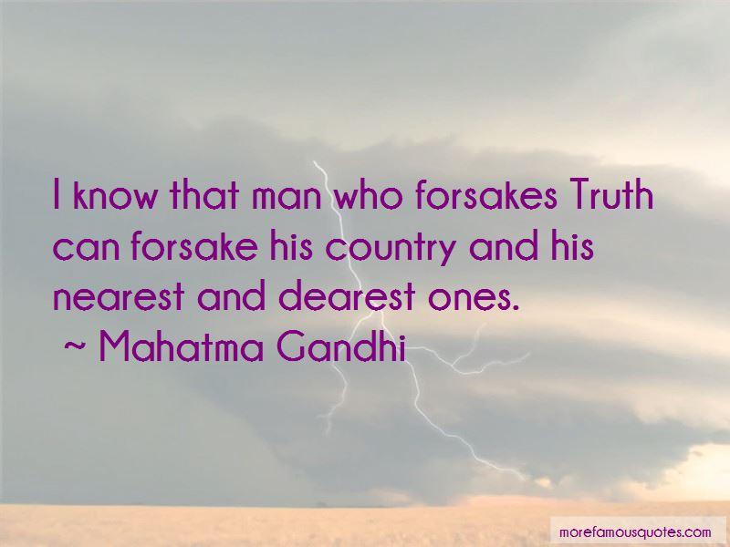 Forsake Quotes