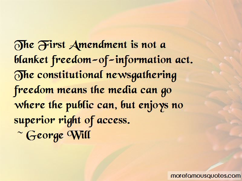 Freedom Of Information Act Quotes Pictures 4