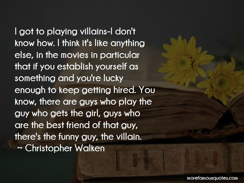 Funny Villain Quotes