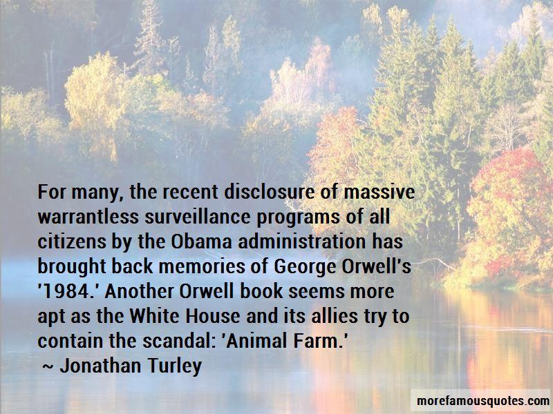 George Orwell Surveillance Quotes