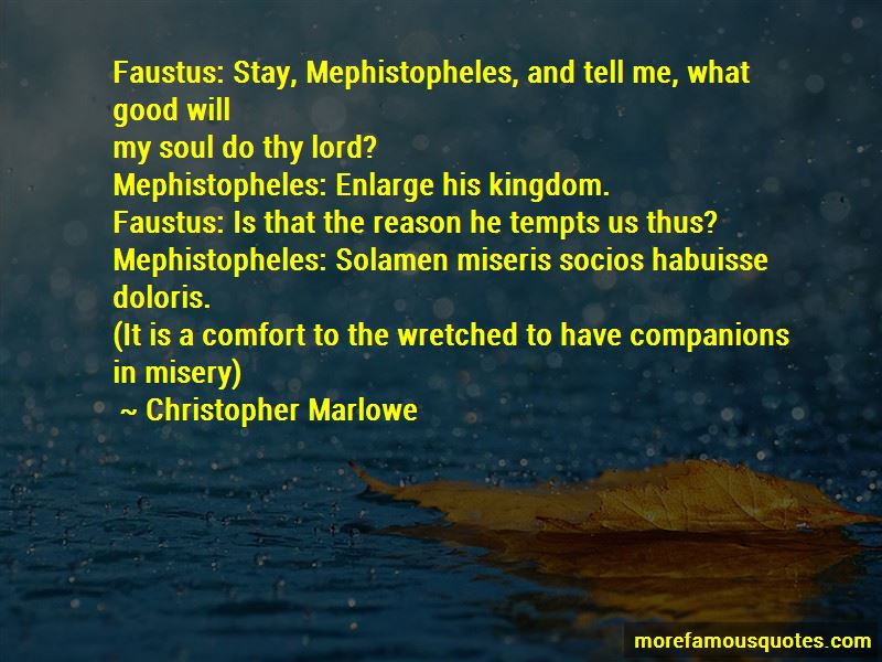 faustus by christopher marlowe could faustus have saved his soul