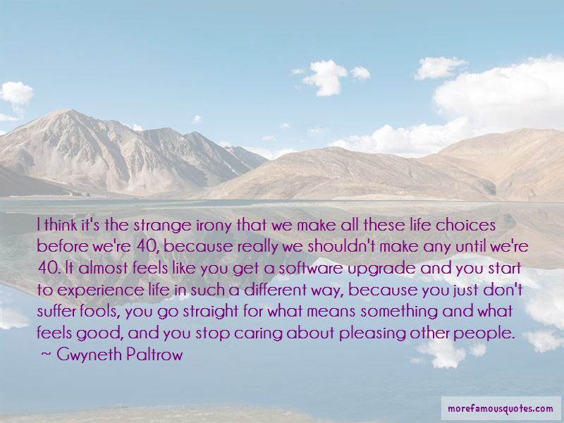 Good Way Life Quotes