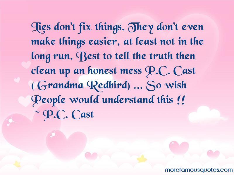 Grandma Redbird Quotes
