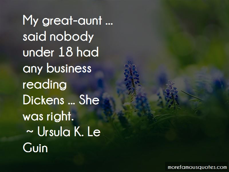 Great Aunt Quotes