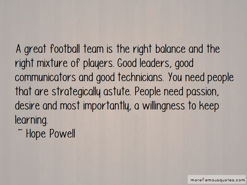 Great Football Team Quotes Top 20 Quotes About Great Football Team