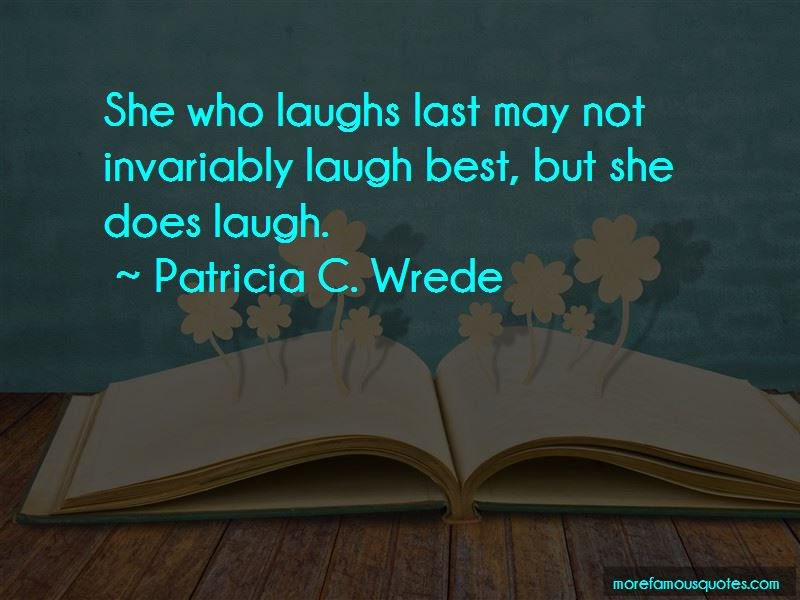 He Who Laugh Last Quotes Pictures 4