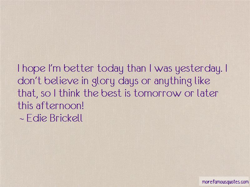 Hope Better Days Quotes Pictures 2