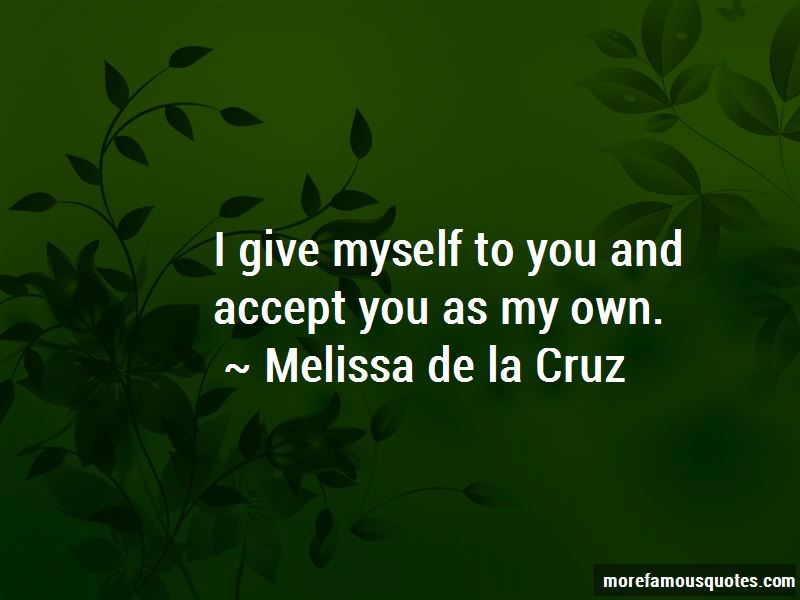 I Give Myself To You Quotes Pictures 2
