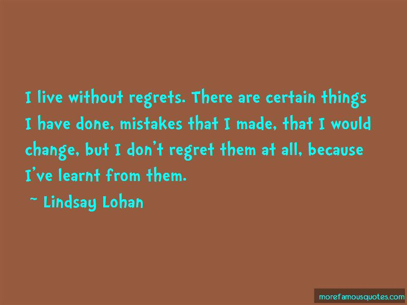 I Have Done Mistakes Quotes