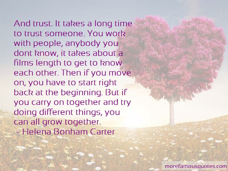 I Know You Don't Trust Me Quotes Pictures 3