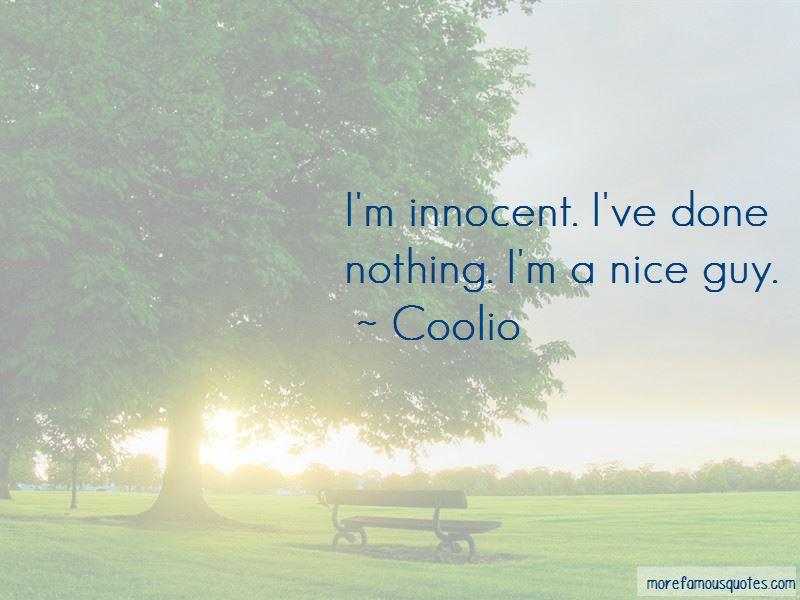 I'm Innocent Quotes