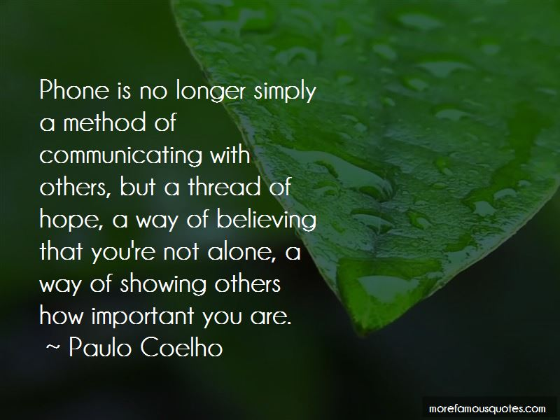 Important You Are Quotes Pictures 3