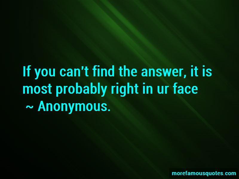 In Ur Face Quotes