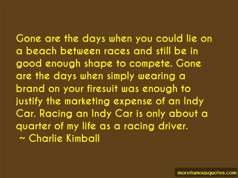 Indy Car Driver Quotes