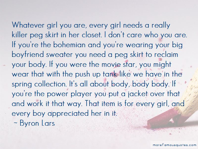 Item Girl Quotes