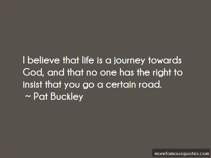 Journey Towards God Quotes
