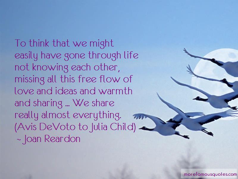 Julia Child Love Quotes