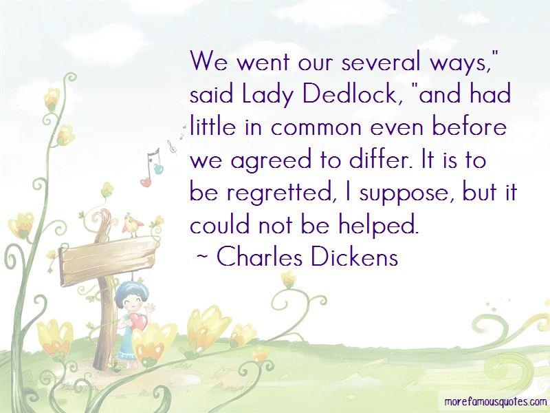 Lady Dedlock Quotes