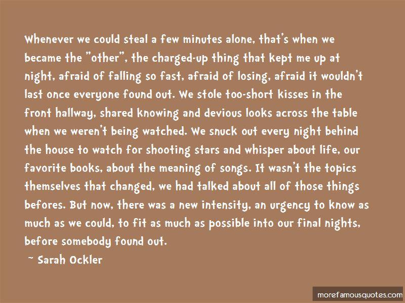Last 2 Minutes Quotes