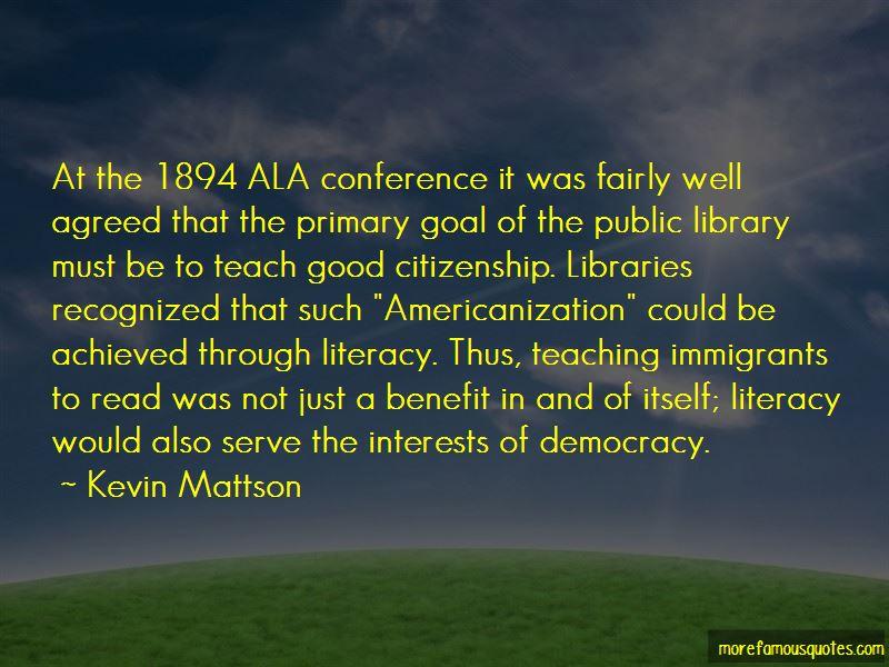 Libraries Democracy Quotes