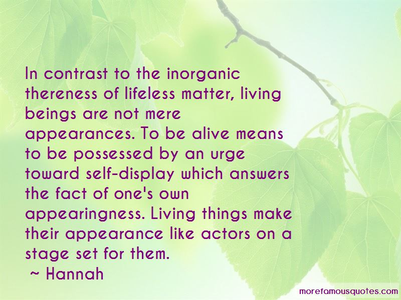 Living Of Appearances Quotes Pictures 2