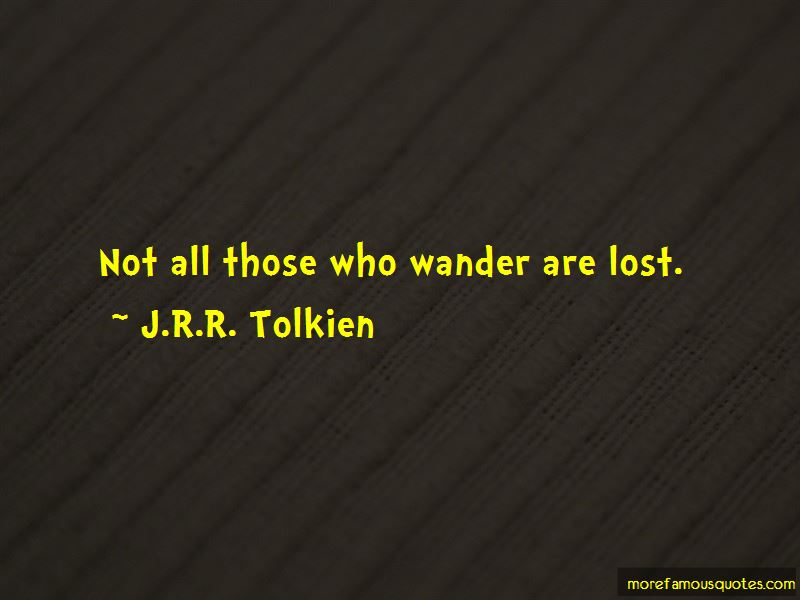 Lost Wander Quotes Pictures 2