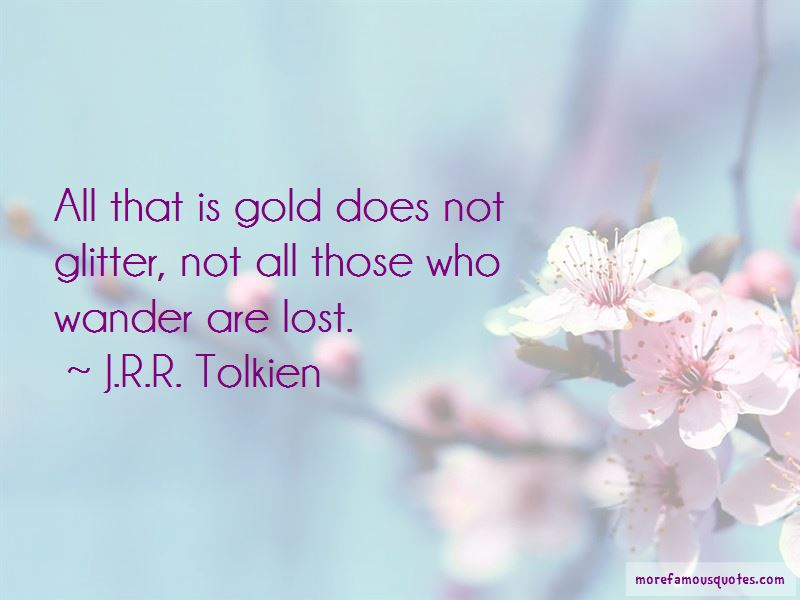 Lost Wander Quotes Pictures 4