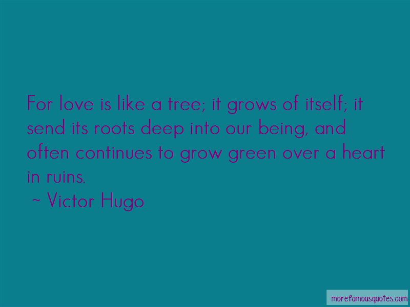 Love Is Like A Tree Quotes Pictures 3