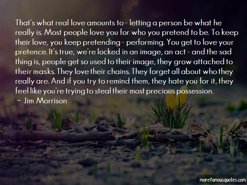 Love Pretence Quotes