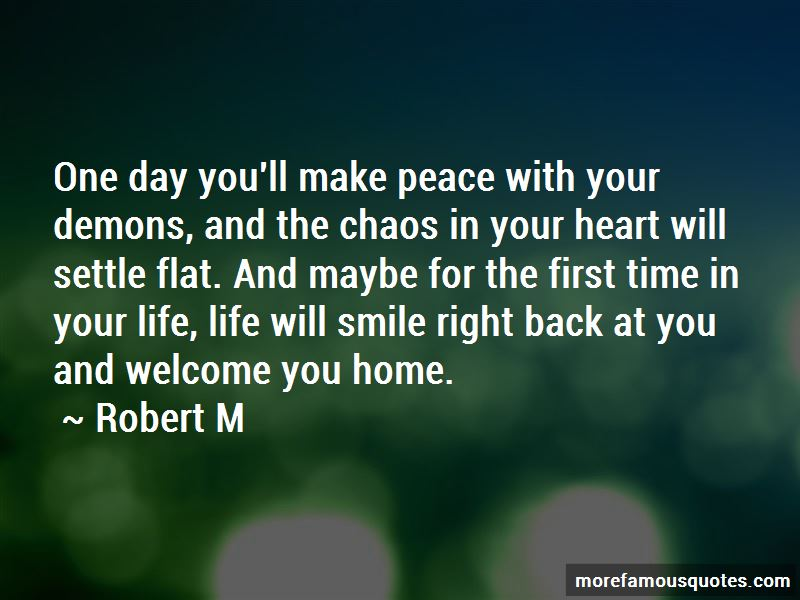 Make Peace With Your Demons Quotes