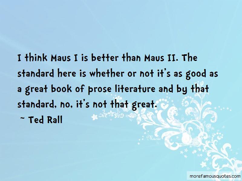 Maus Book 2 Quotes