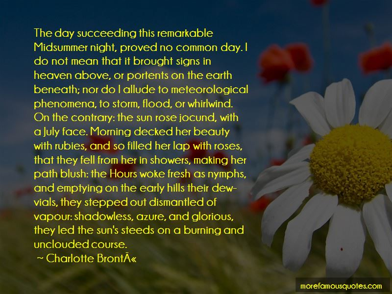 Meteorological Day Quotes