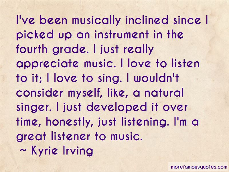Musically Inclined Quotes Pictures 4