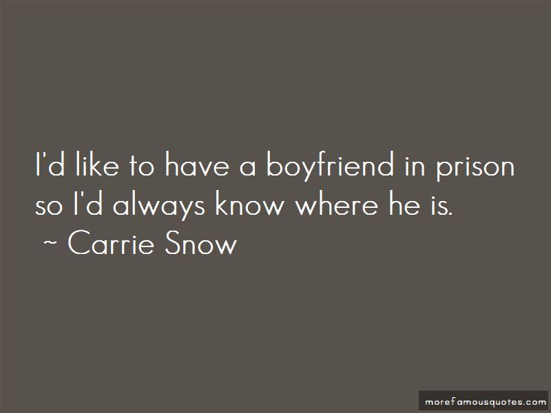 My Boyfriend In Prison Quotes
