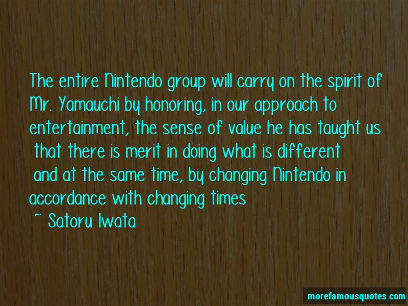 Nintendo Yamauchi Quotes