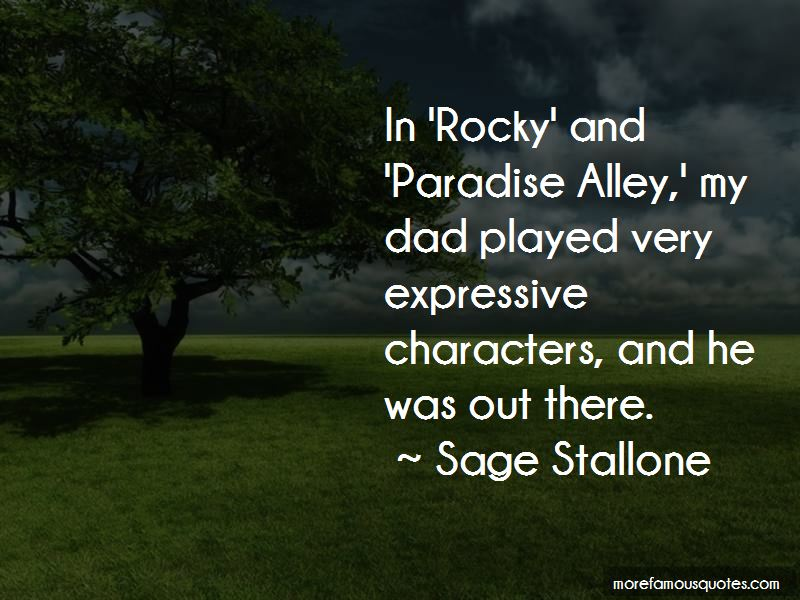 Paradise Alley Quotes