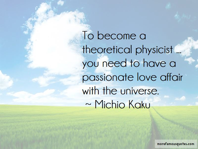 Physicist Love Quotes