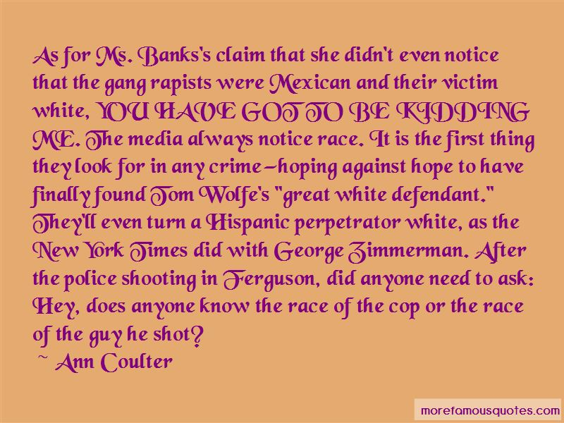 Police Shooting Quotes