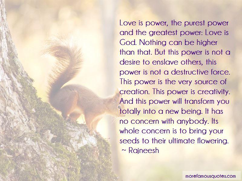 Power Love Quotes