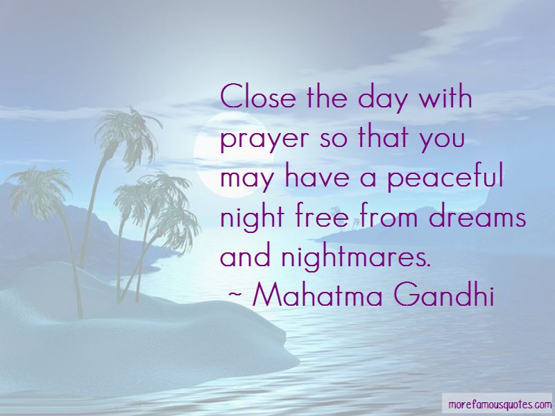 Prayer For Night Quotes