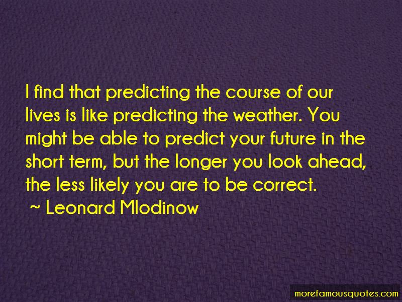 Predicting Weather Quotes Pictures 3