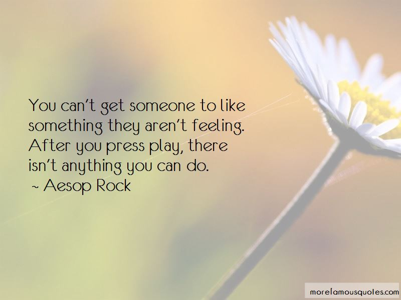 Press Play Quotes