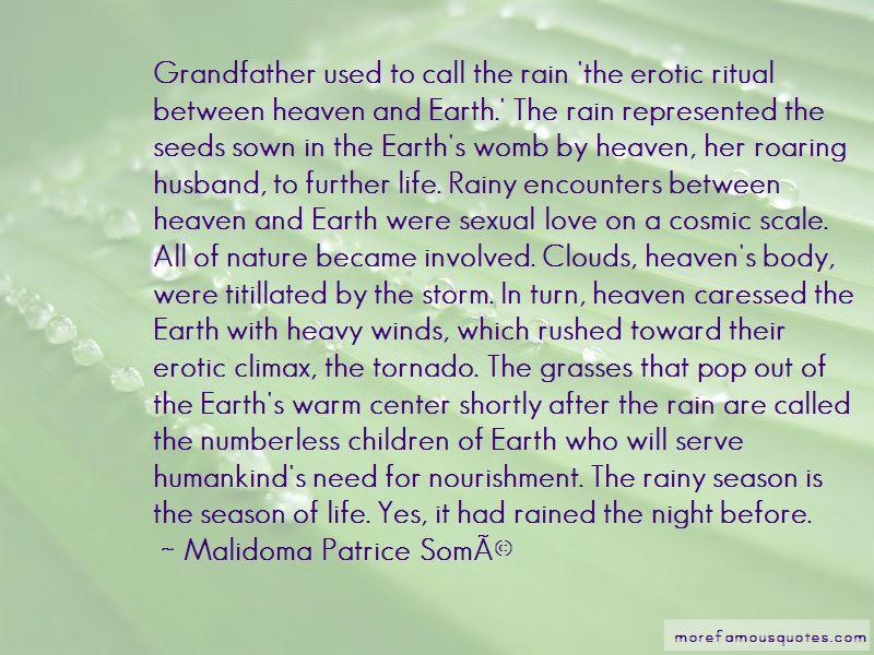 Rainy Season Love Quotes