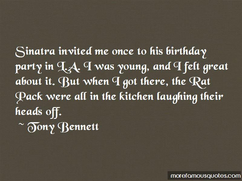 Rat Pack Birthday Quotes