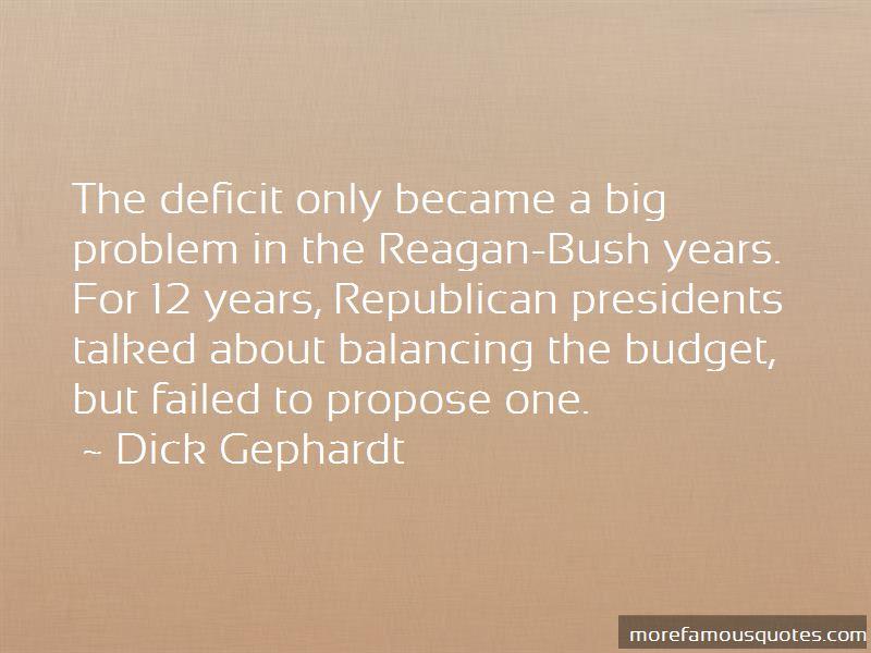 Reagan Deficit Quotes Pictures 2