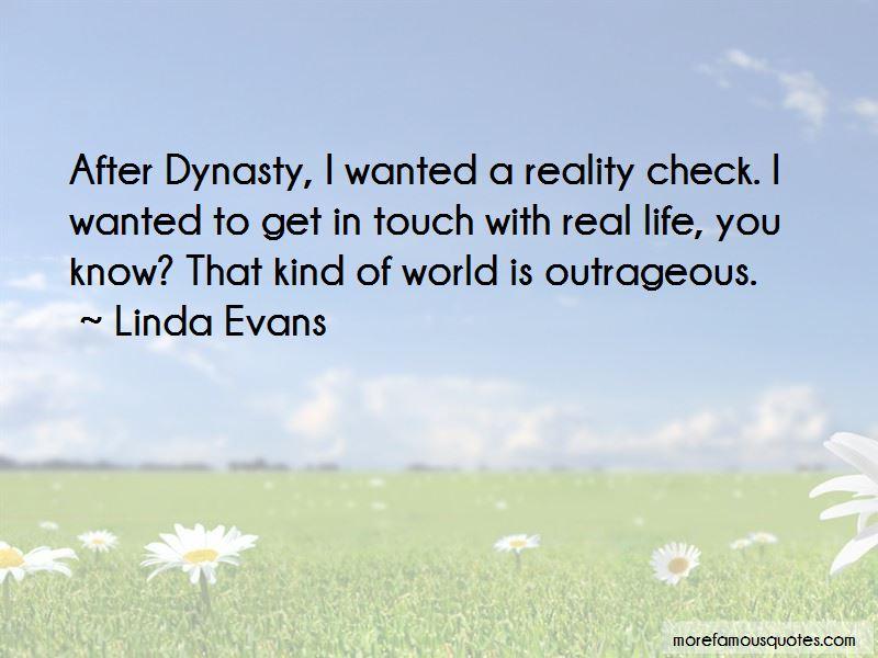 Reality Check Life Quotes