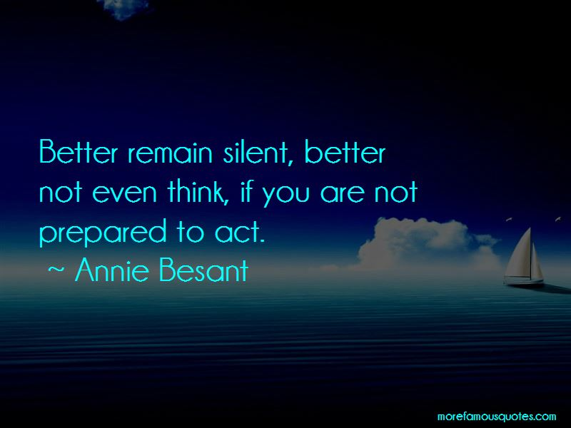 Remain Silent Quotes Pictures 2