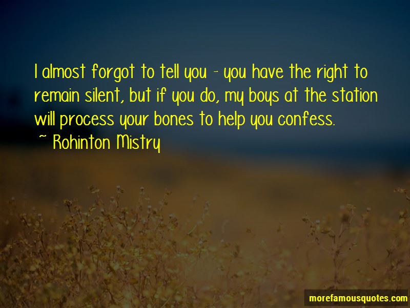 Remain Silent Quotes